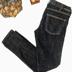 Current Elliott Deadstock Dark Wash Skinny Jean 31